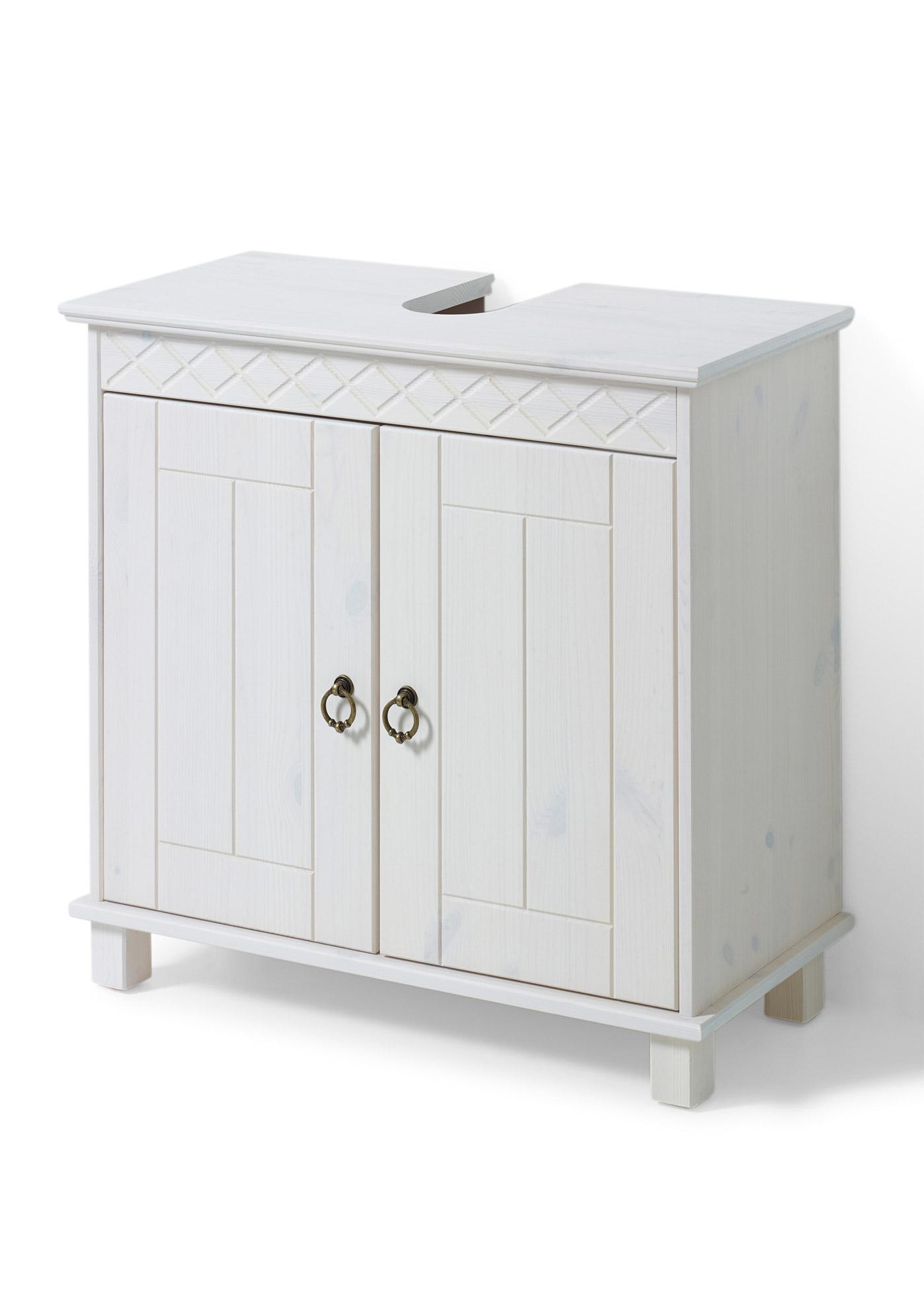 waschbeckenunterschrank landhausstil machen sie den preisvergleich bei nextag. Black Bedroom Furniture Sets. Home Design Ideas