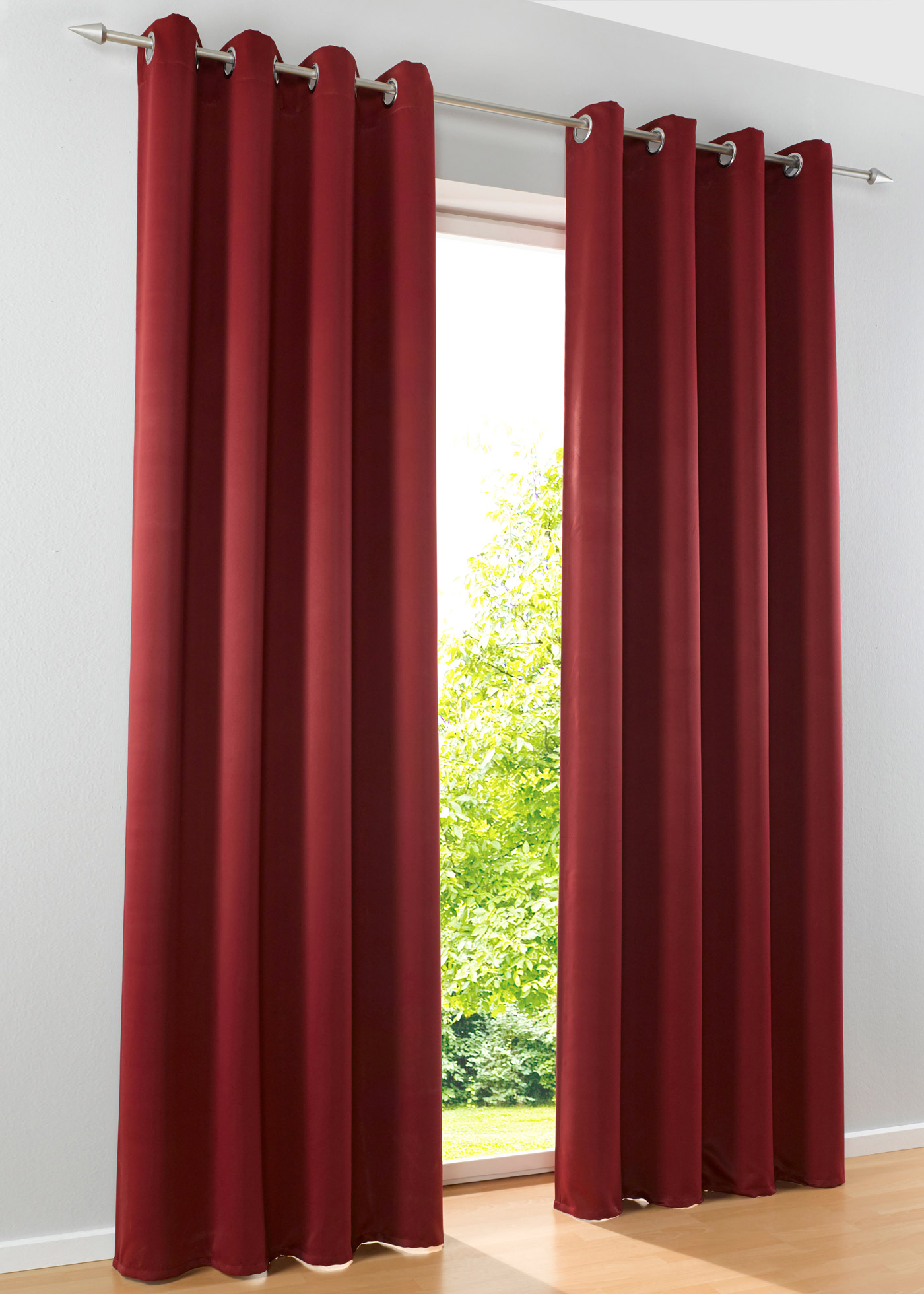 gardinen mit oesen verdunkelung machen sie den. Black Bedroom Furniture Sets. Home Design Ideas