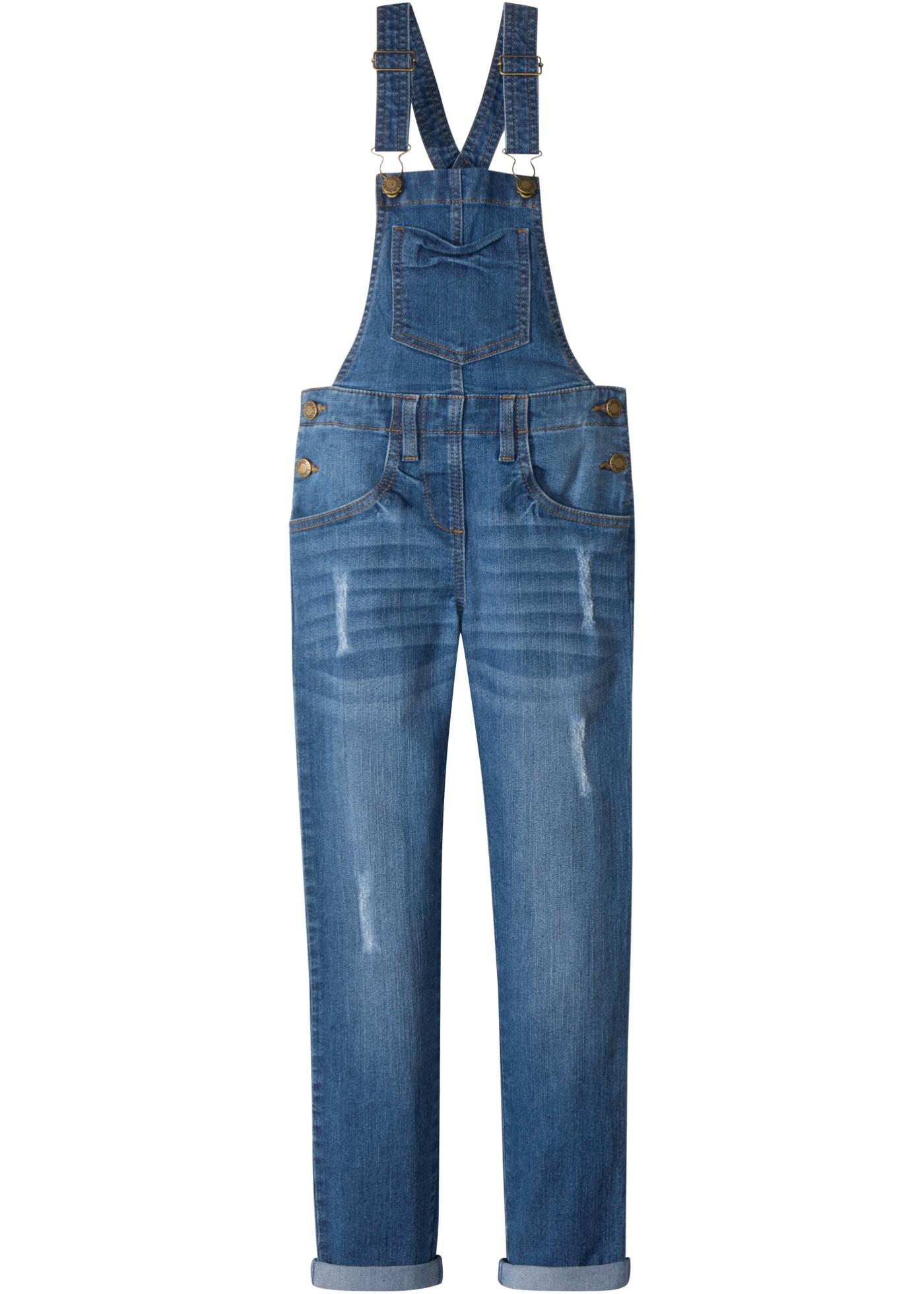 Bonprix Mädchen,Kinder Jeans Latzhose | 08941101795636