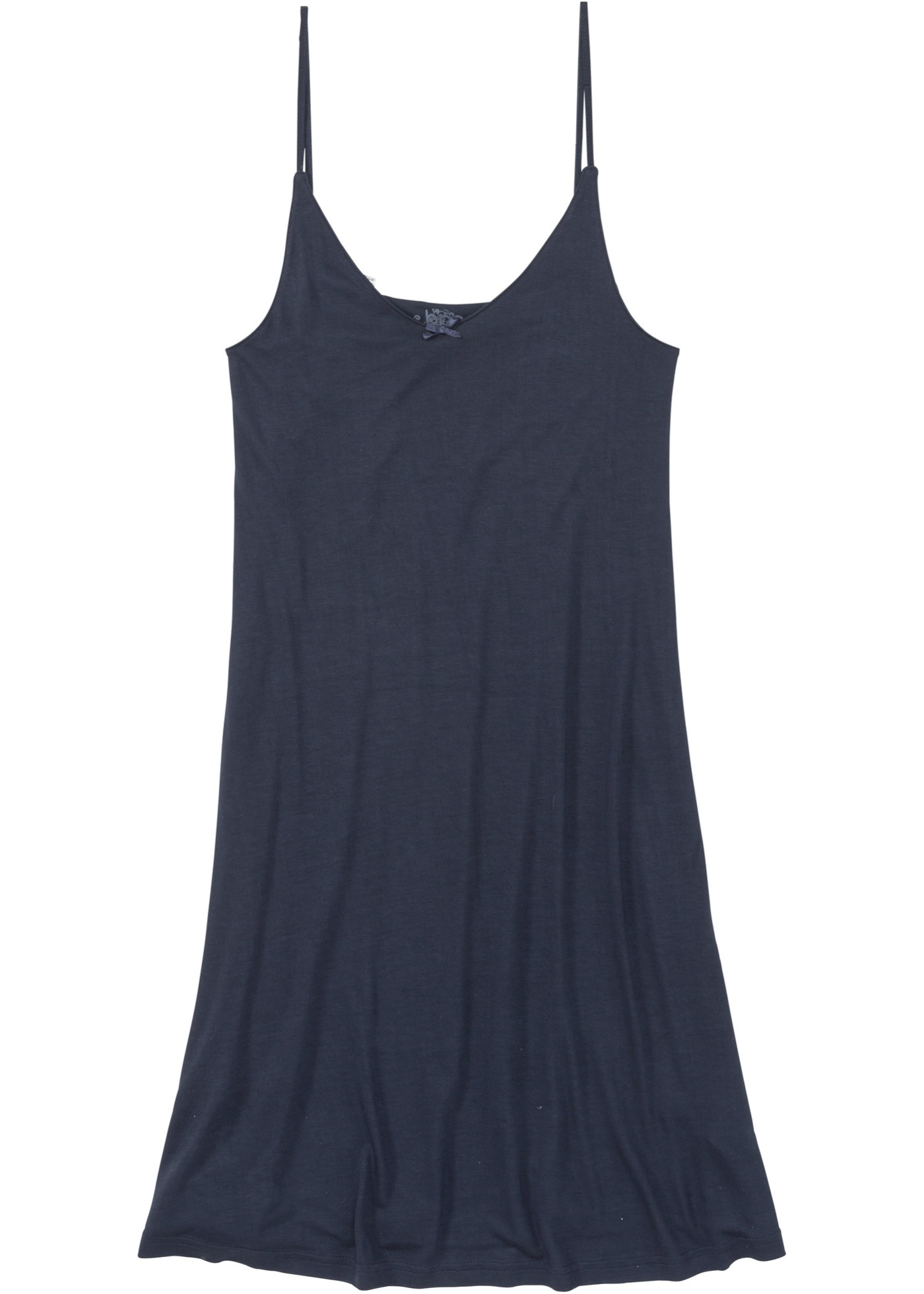 Nachthemd aus Viskose ohne Ärmel in blau für Damen von bonprix