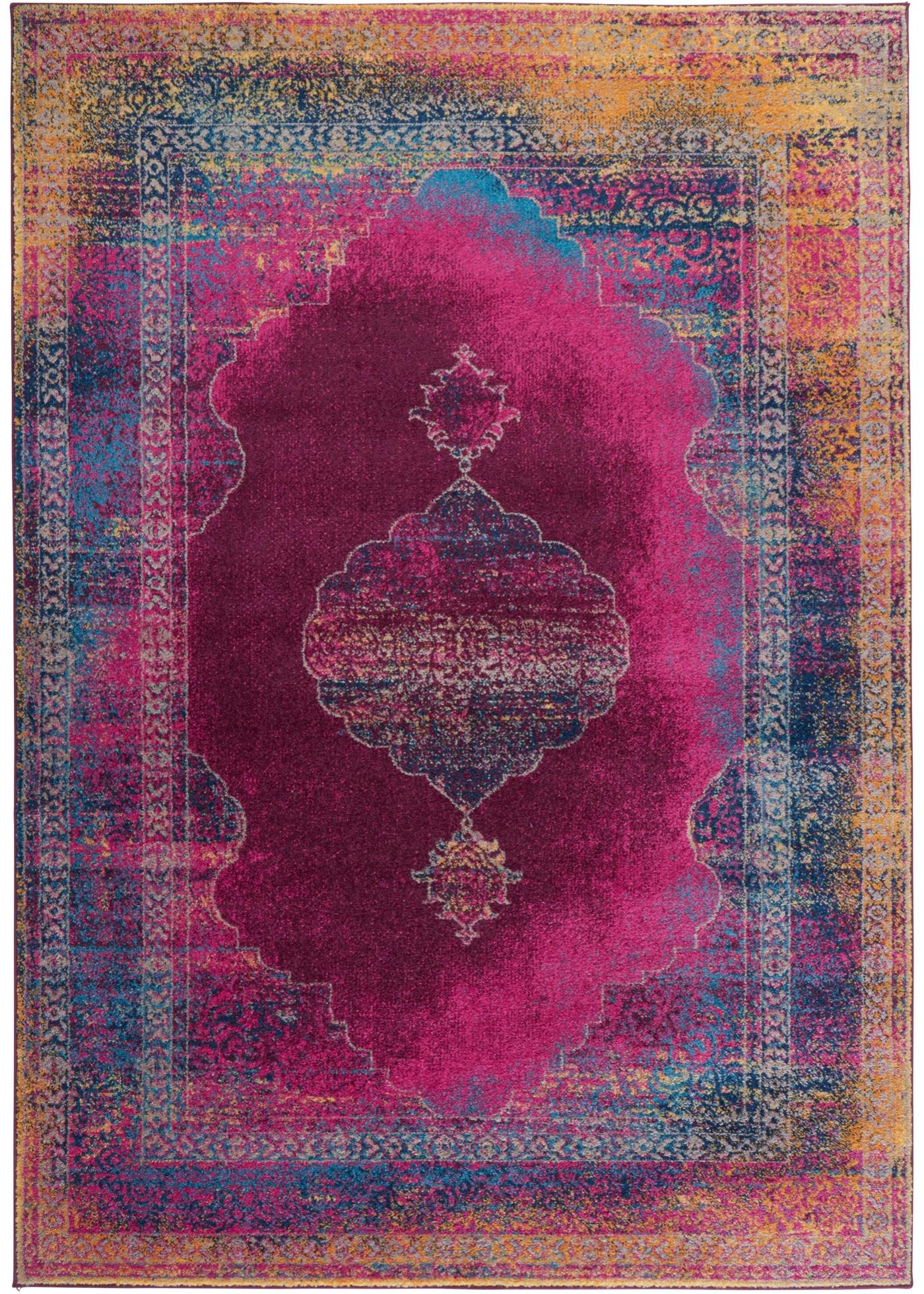 Teppich Nadja in lila von bonprix