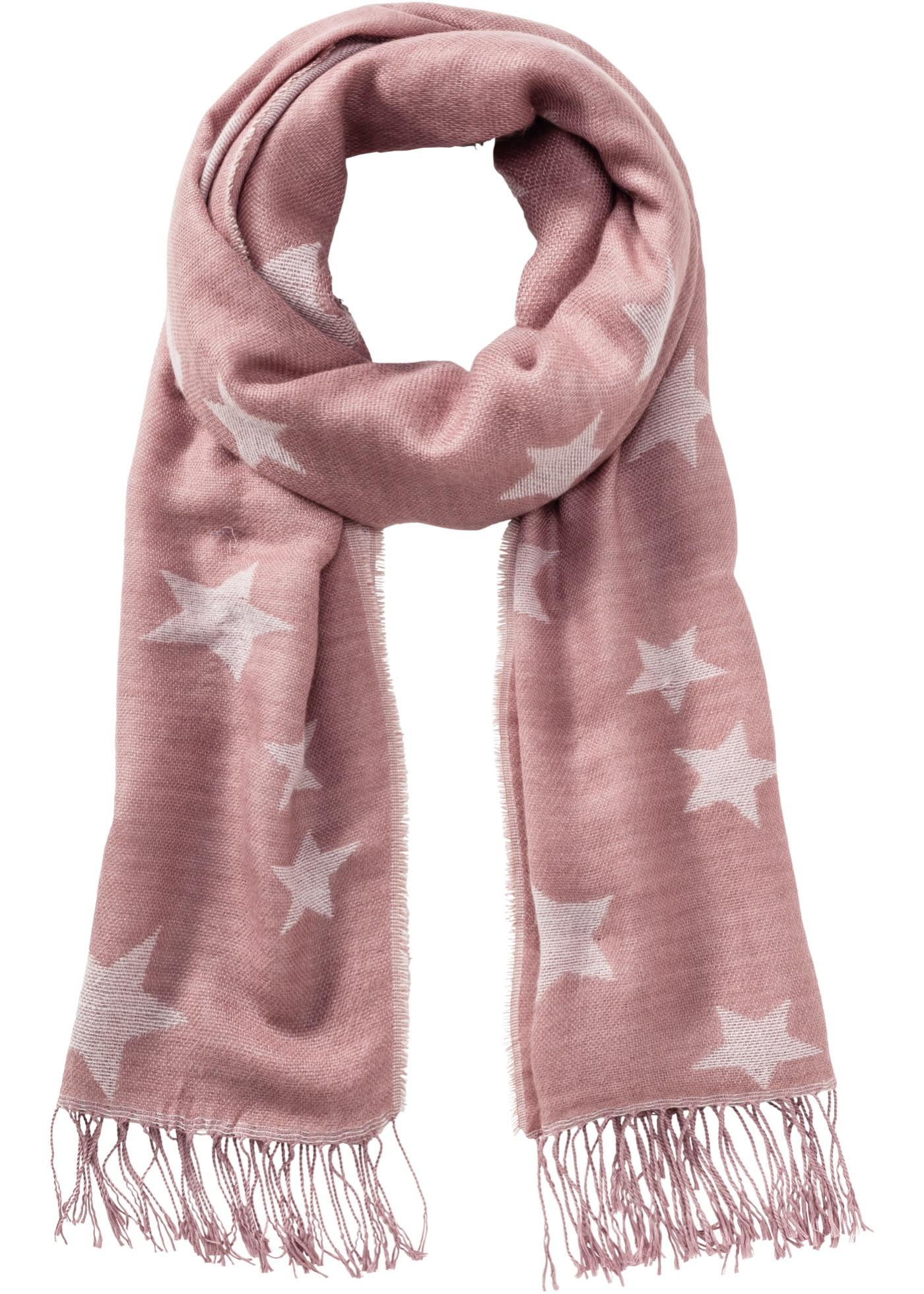 Schal mit Sternchen