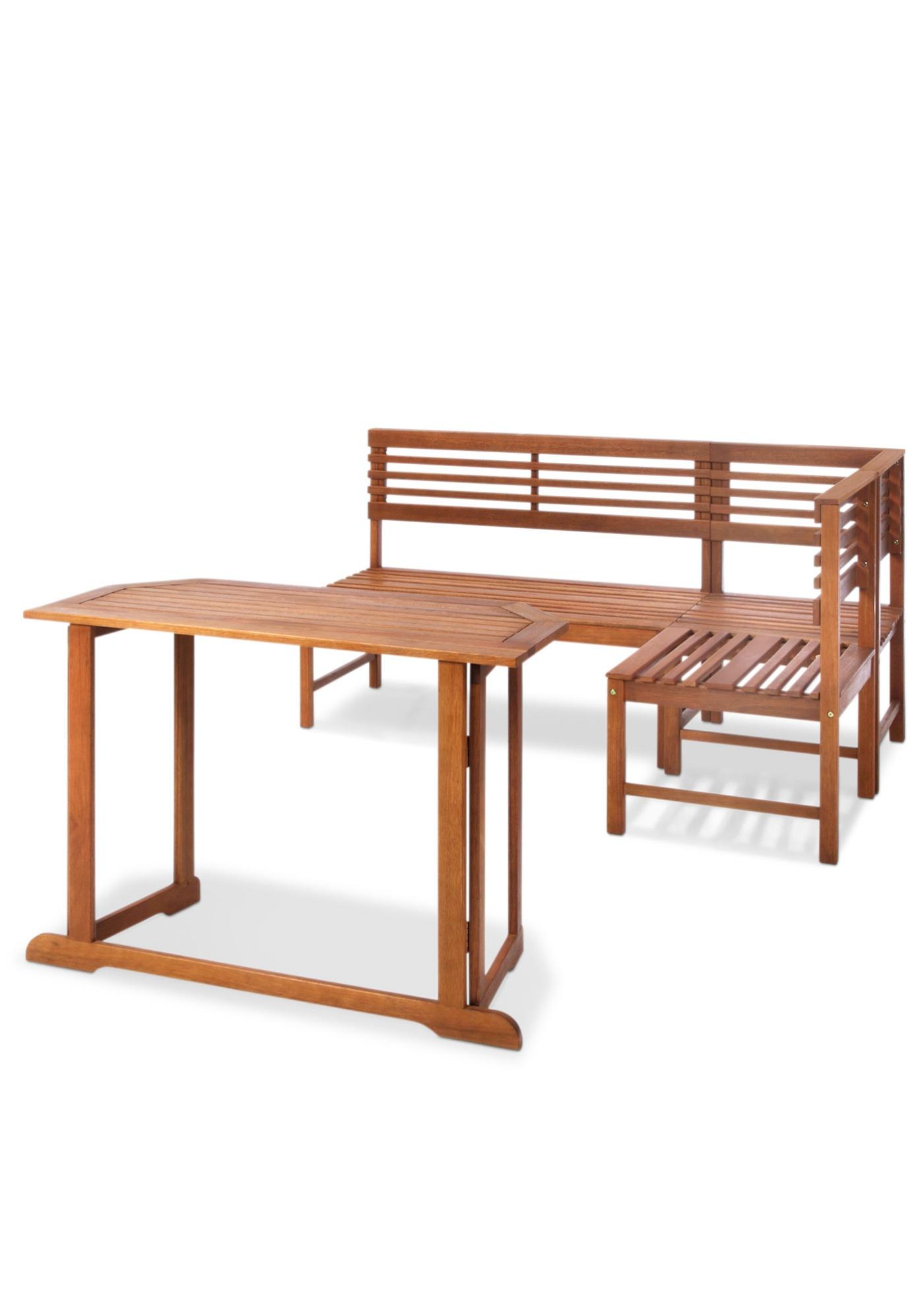 Balkonmöbel Set (4-tlg.)