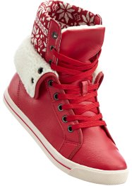 Freizeitstiefel, bpc bonprix collection, rot