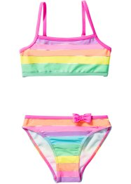 Bikini Mädchen (2-tlg. Set), bpc bonprix collection, pink