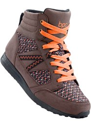 Freizeitschuh, bpc bonprix collection, braun/orange