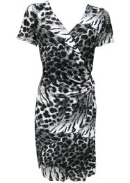 Vestido com estampa, animal print