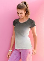 Camiseta dip dye degradê