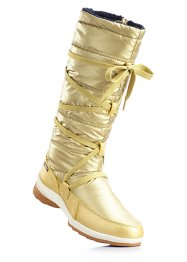 Winterstiefel, bpc bonprix collection, gold