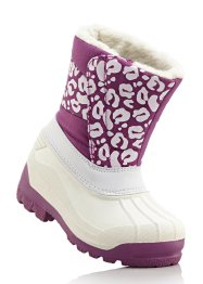Winterstiefel, bpc bonprix collection, weiß/pink