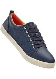 Freizeitschuh, bpc bonprix collection, navy/orange