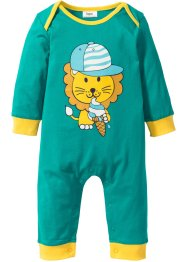 Baby Overall Bio-Baumwolle, bpc bonprix collection, smaragd