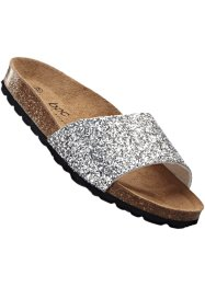 Pantolette, bpc bonprix collection, silber