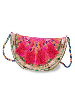 Clutch Melone, bpc bonprix collection, pink/grün