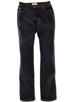Calça jeans BOOT CUT com stretch, preto estonado