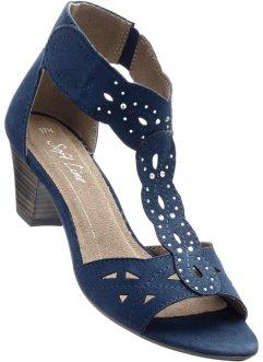 blaue sandalen aktuelle sommertrends bei bonprix online. Black Bedroom Furniture Sets. Home Design Ideas