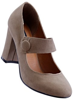 Spangenpumps, bpc selection, taupe