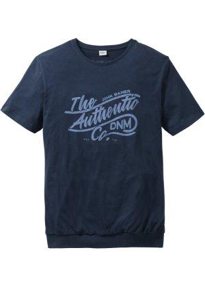 Bonprix Herren T-Shirt mit Spezial-Bauchschnitt Regular Fit | 06161112618393