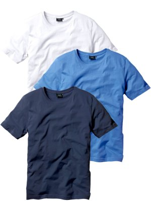 Bonprix Herren T-Shirt (3er-Pack), Regular Fit | 08944000211528
