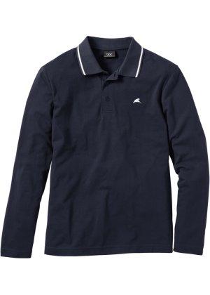 Bonprix Herren Herren Langarm-Poloshirt, Regular Fit | 08940002166033