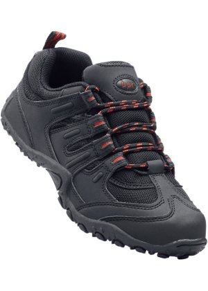 Robuster Outdoorschuh, bpc bonprix collection, schwarz