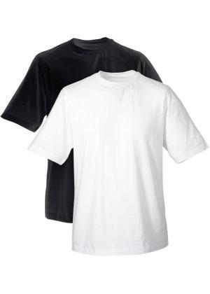 Bonprix Herren Herren T-Shirt mit Rundhals-Ausschnitt (2er-Pack) | 08903340127739