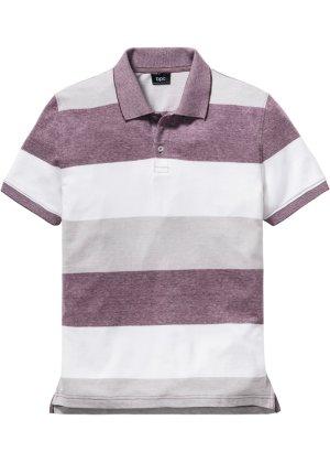 Bonprix Herren Gestreiftes Poloshirt Regular Fit | 08903340659025