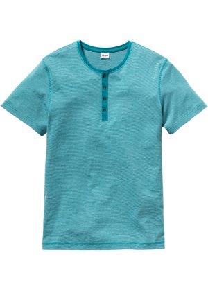 Bonprix Herren Henley-Shirt mit Streifen Regular Fit | 06959398589953