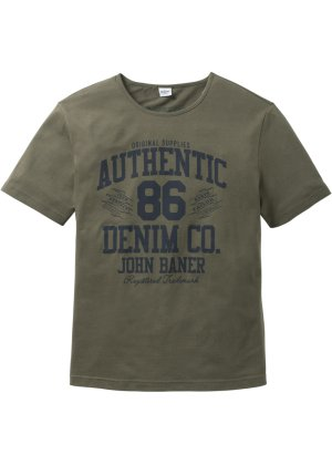 Bonprix Herren T-Shirt mit Druck Regular Fit | 06927888926168