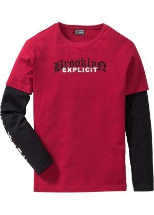 Bonprix Herren 2-in-1-Langarmshirt Regular Fit | 06934677520094