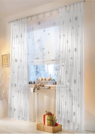 weihnachtsgardinen f r dein zuhause bei bonprix. Black Bedroom Furniture Sets. Home Design Ideas