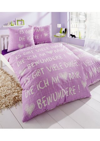 bettw sche in lila aktuelle trends f r ihr heim. Black Bedroom Furniture Sets. Home Design Ideas