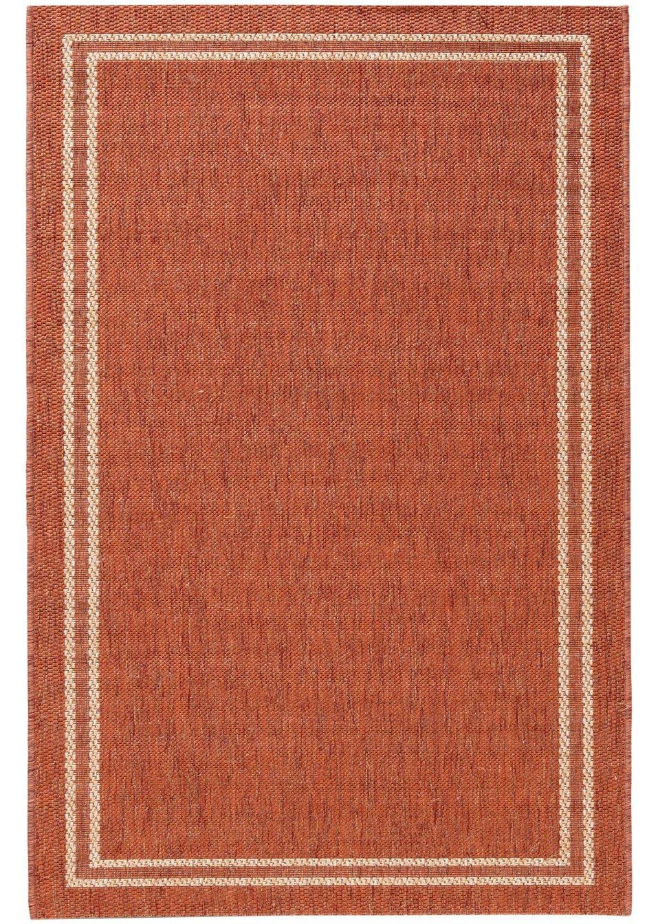 strapazierf higer in und outdoor teppich elba in wohnlichen farben terra. Black Bedroom Furniture Sets. Home Design Ideas