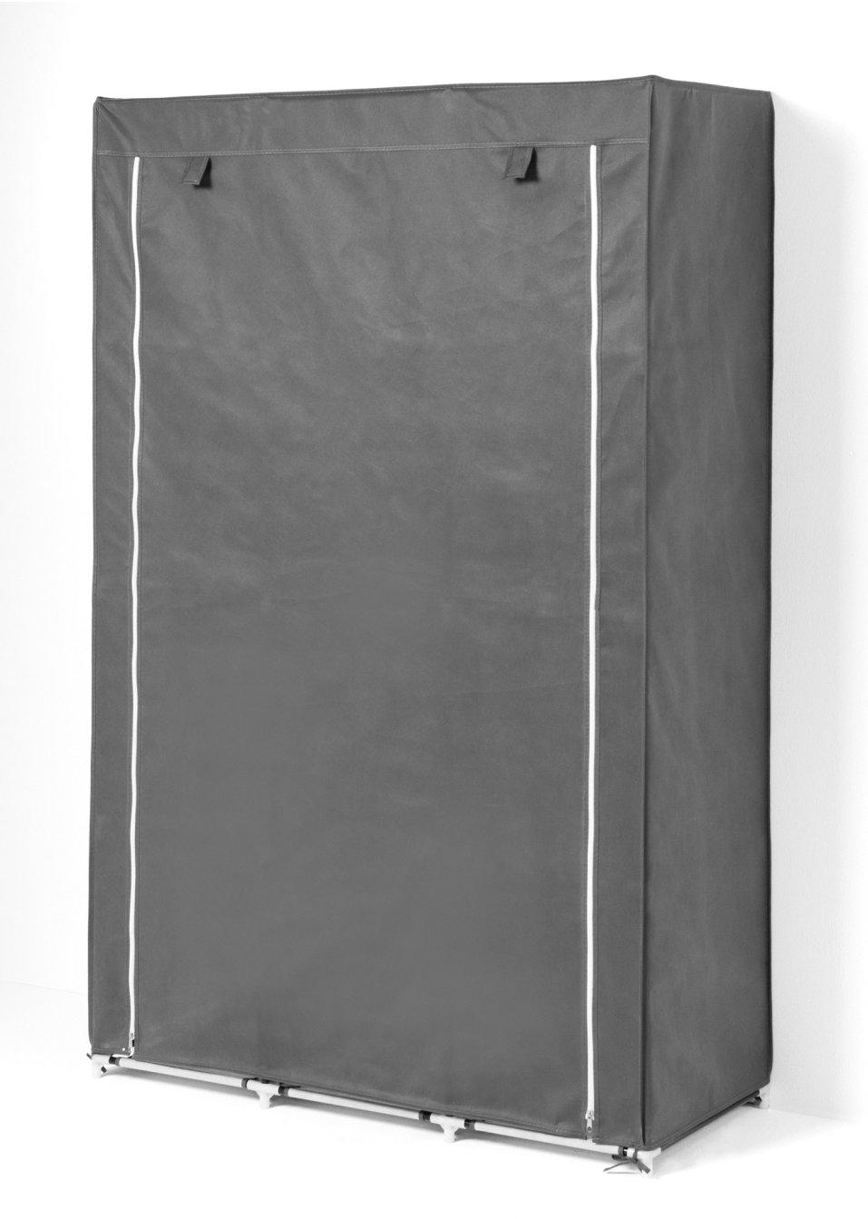 schrank lore nie wieder den berblick verlieren grau mit 8 f chern. Black Bedroom Furniture Sets. Home Design Ideas