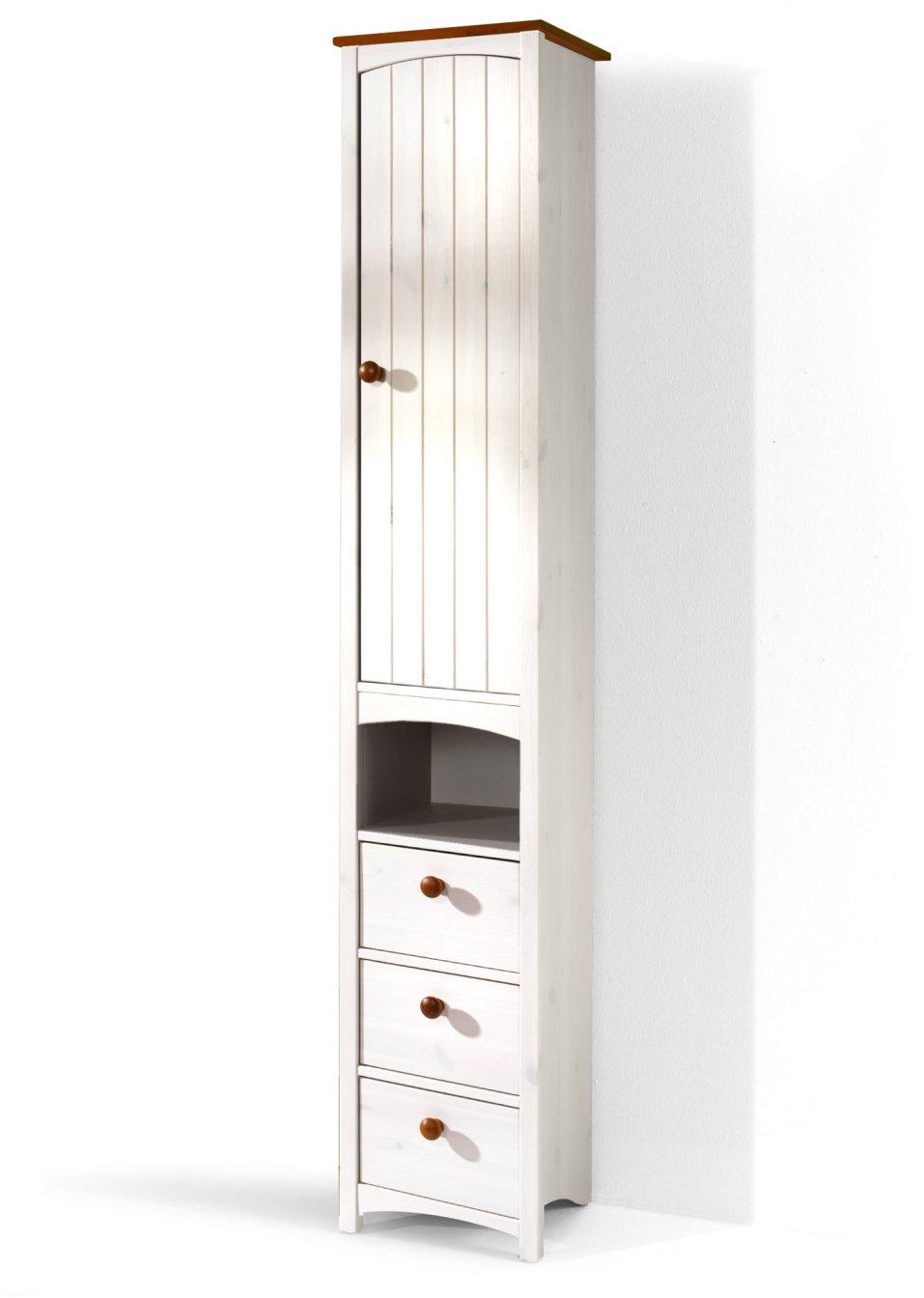 Platzsparender schmaler Badezimmer Hochschrank \