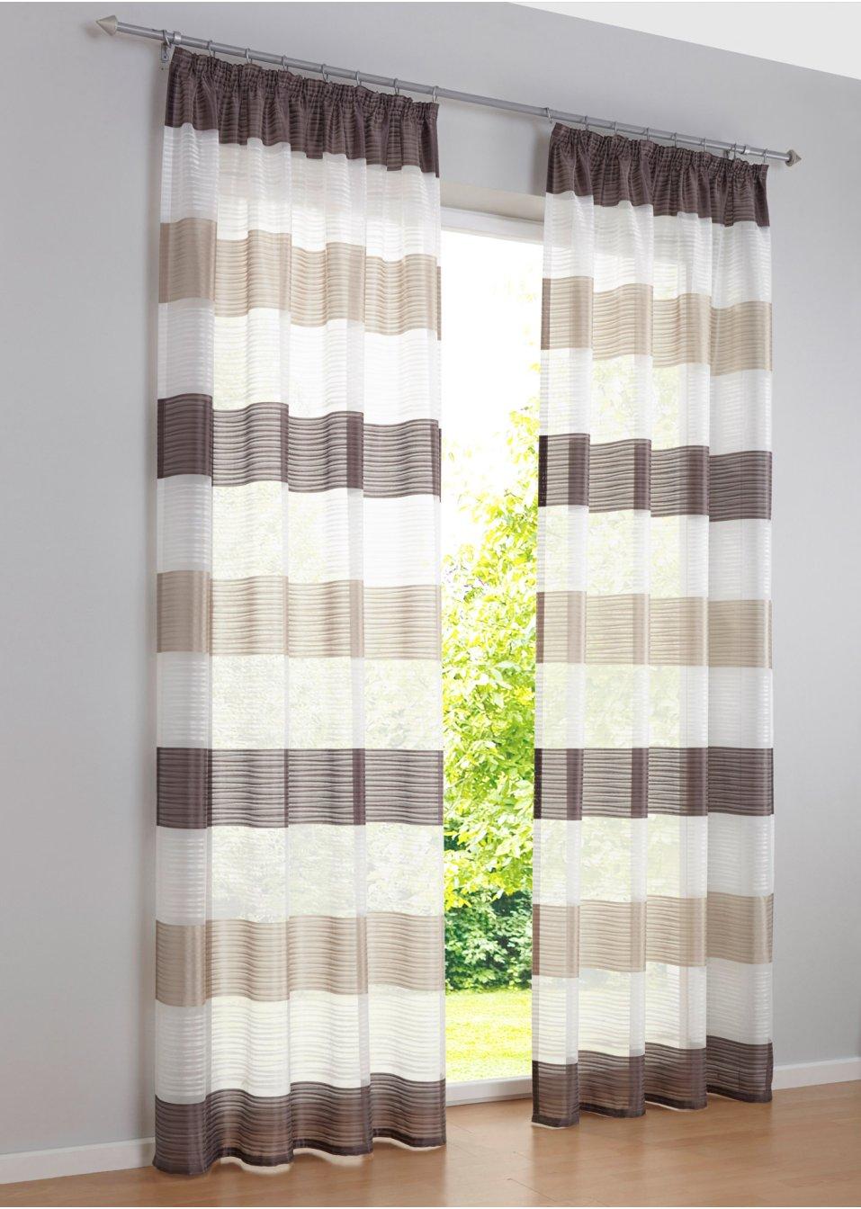 gardine silas 1er pack stein bpc living online bestellen. Black Bedroom Furniture Sets. Home Design Ideas