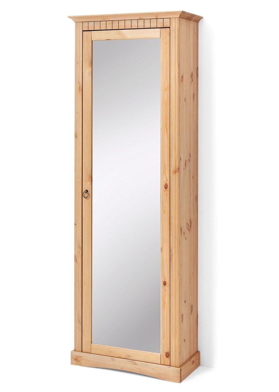 zwei in einem schuhschrank mit spiegel neapel gelaugt ge lt mit spiegel. Black Bedroom Furniture Sets. Home Design Ideas
