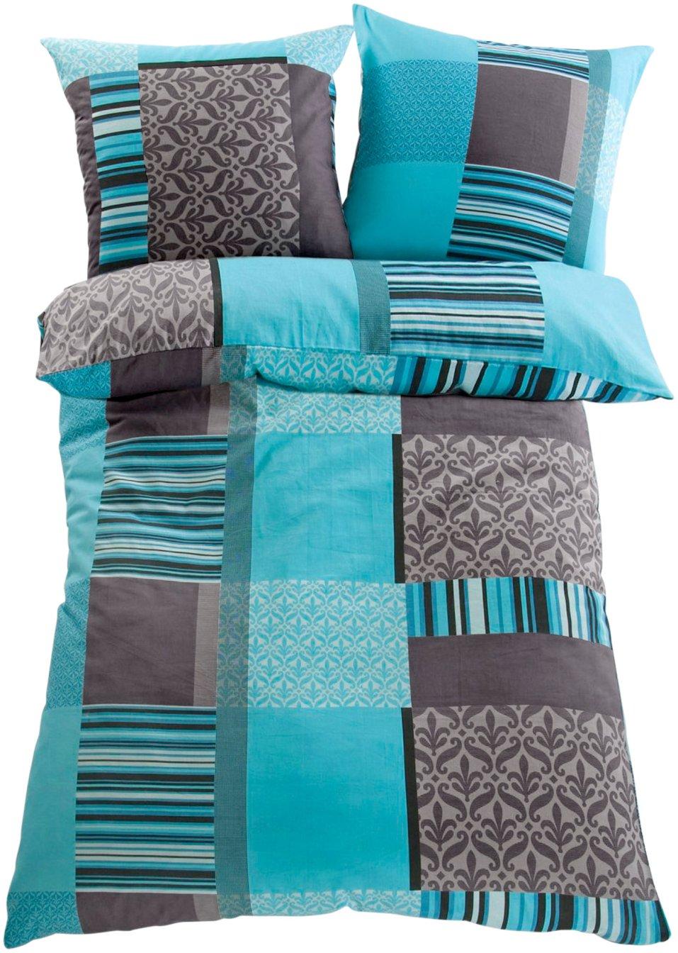 tolle farbkombination bettw sche matis im grafischen. Black Bedroom Furniture Sets. Home Design Ideas
