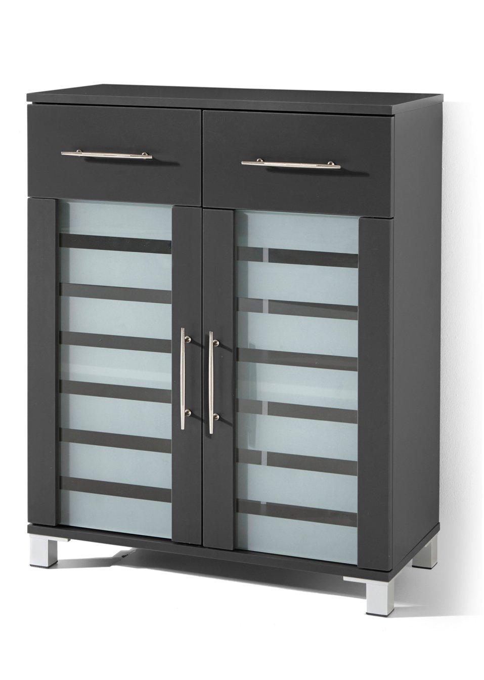 trendig und praktisch der 2 t rige badezimmer schrank mit 2 schubladen mauve mit 2 t ren. Black Bedroom Furniture Sets. Home Design Ideas