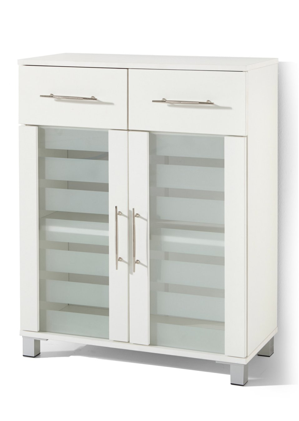trendig und praktisch der 2 t rige badezimmer schrank mit 2 schubladen wei mit 2 t ren. Black Bedroom Furniture Sets. Home Design Ideas