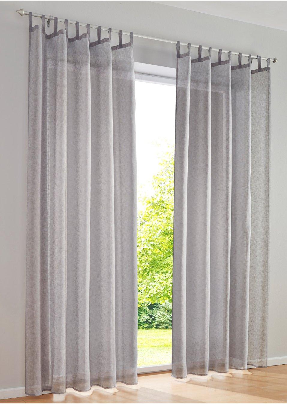 Traumhafte gardinen & vorhänge in grau bei bonprix