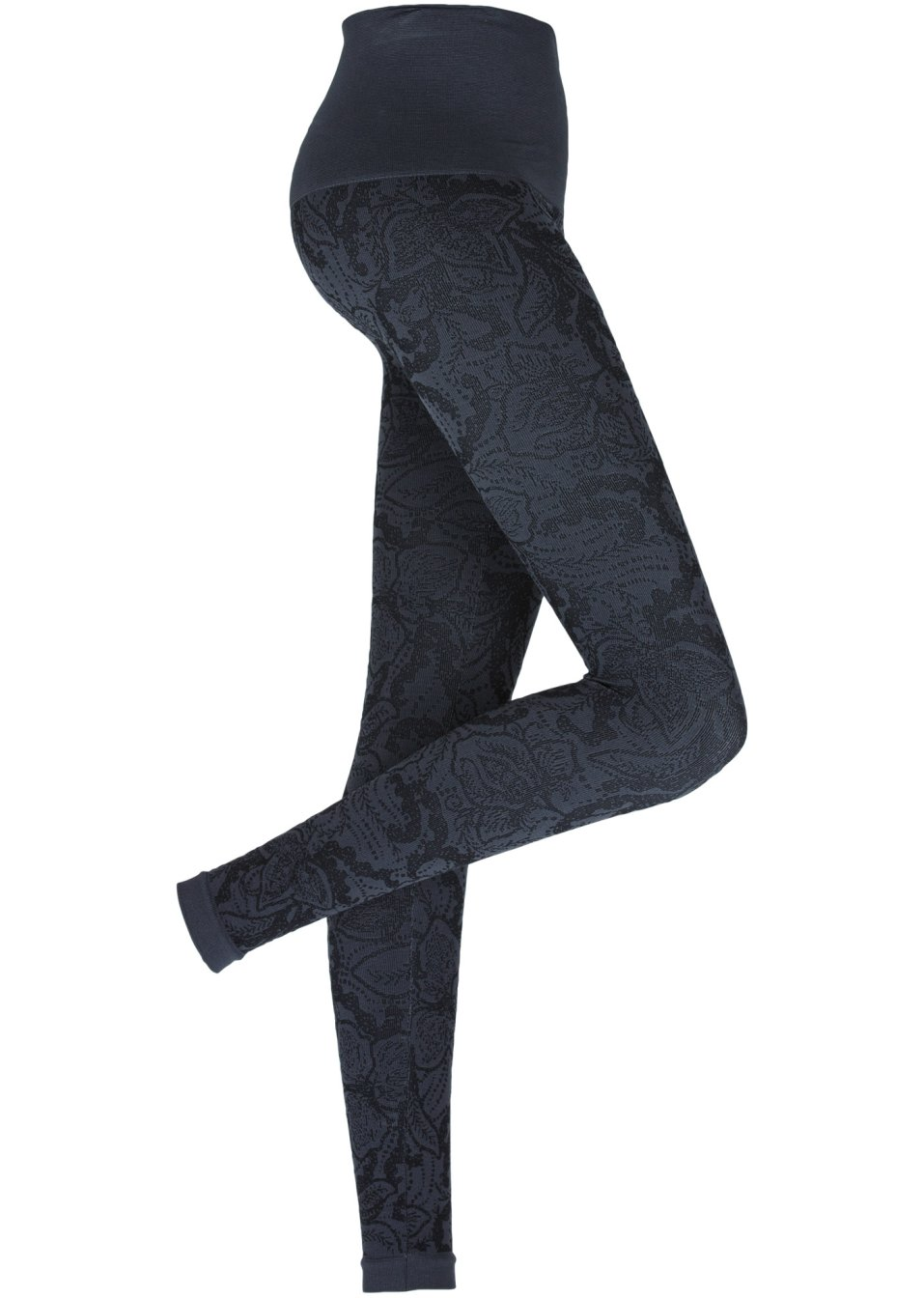 Graue Leggings - trendy Hose in gemütlicher Passform
