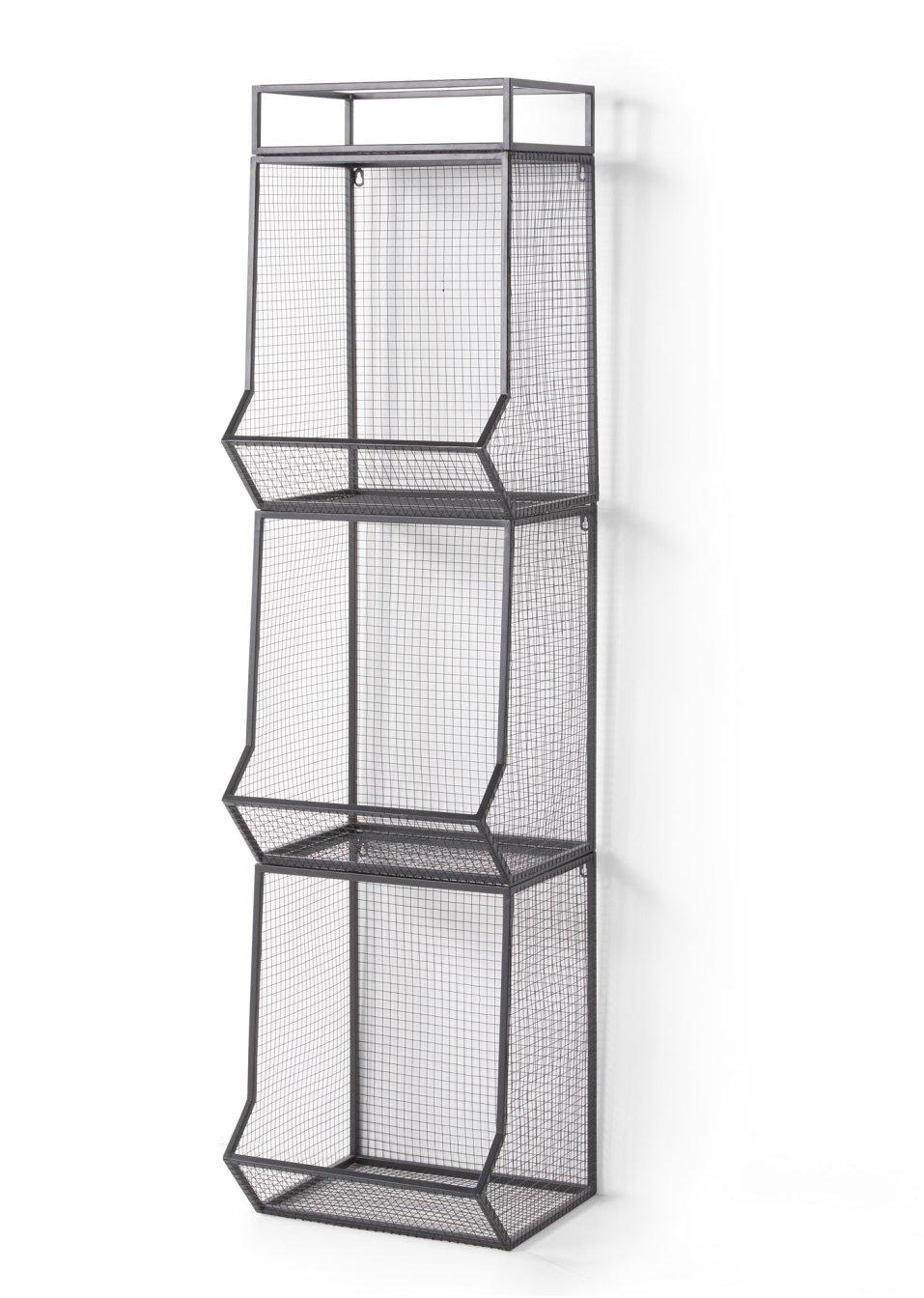 regal henry schwarz wohnen. Black Bedroom Furniture Sets. Home Design Ideas