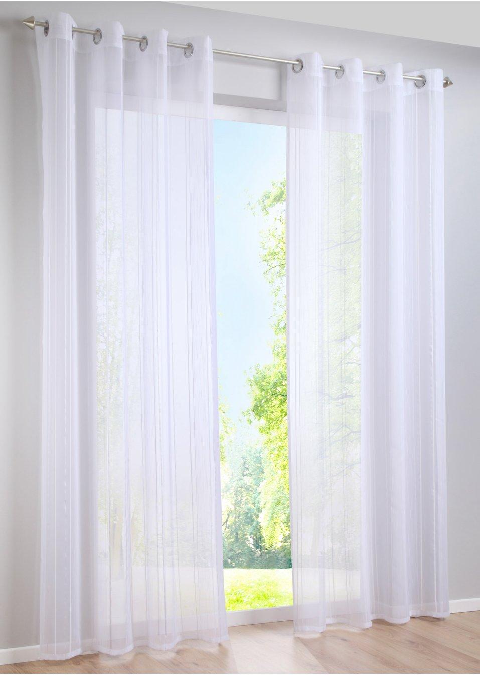 gardine silvia 1er pack sen wei wohnen. Black Bedroom Furniture Sets. Home Design Ideas