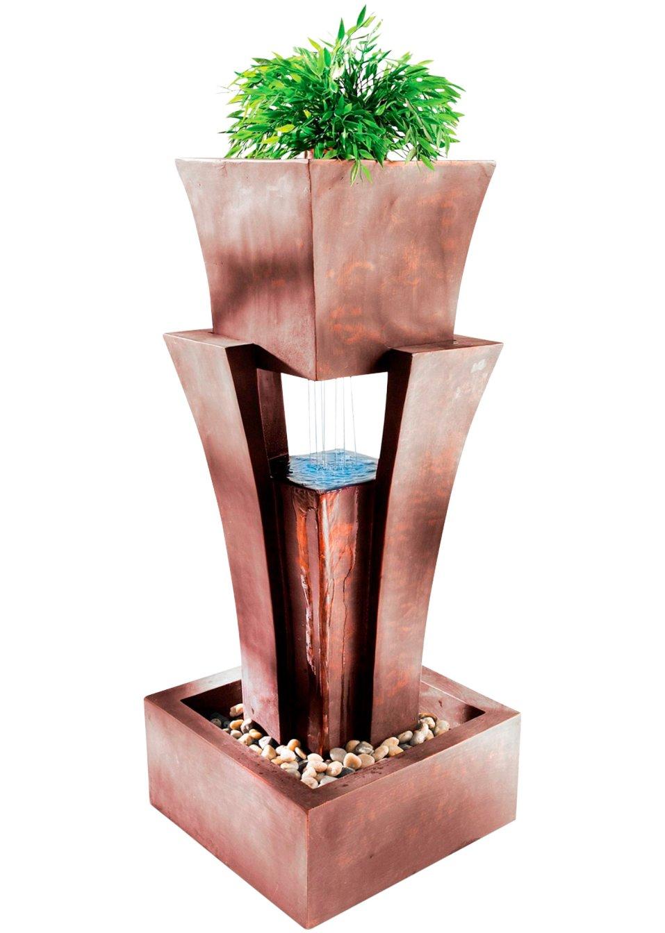 miavilla zimmerbrunnen maya braun wohnen home. Black Bedroom Furniture Sets. Home Design Ideas