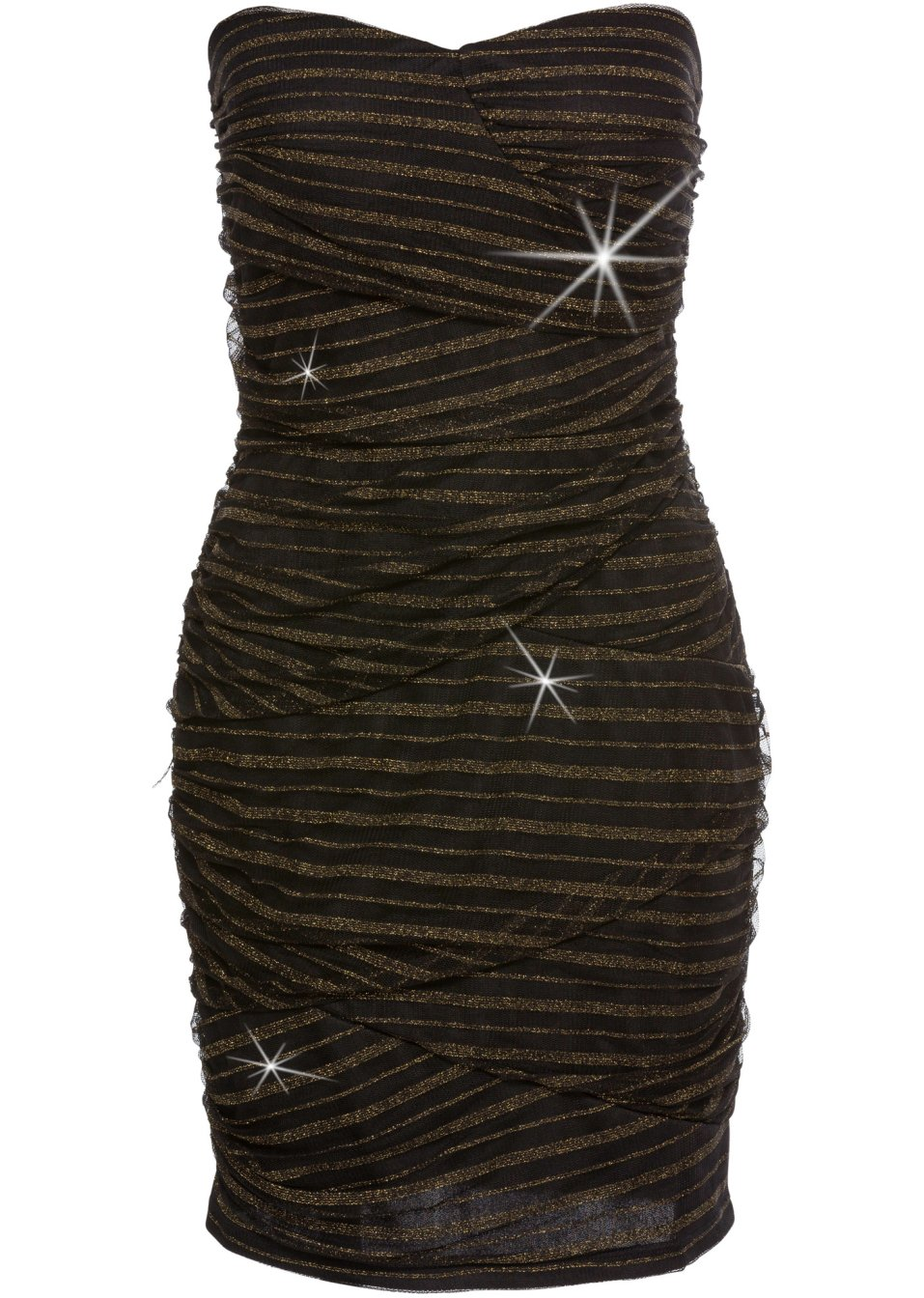 Partykleid schwarz/gold - Damen - BODYFLIRT boutique - bonprix.de