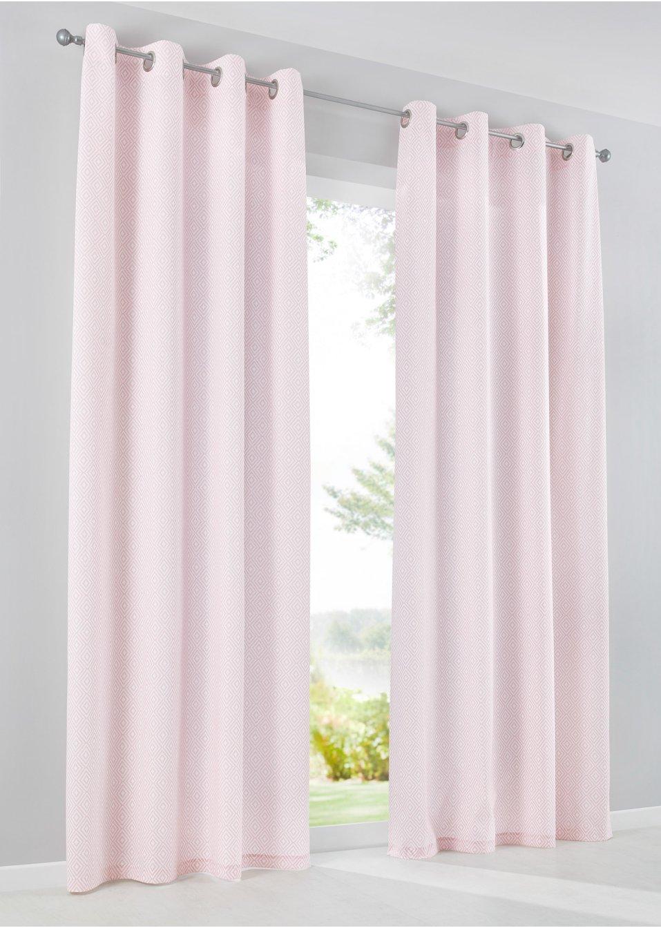 vorhang iska 1er pack rosa bpc living online bestellen. Black Bedroom Furniture Sets. Home Design Ideas