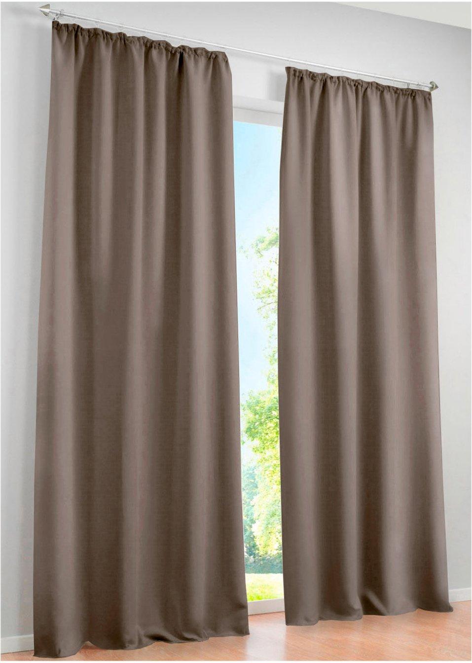 Verdunkelungsvorhänge Licht Und Sichtschutz Bonprix - Verdunkelungsvorhang schlafzimmer