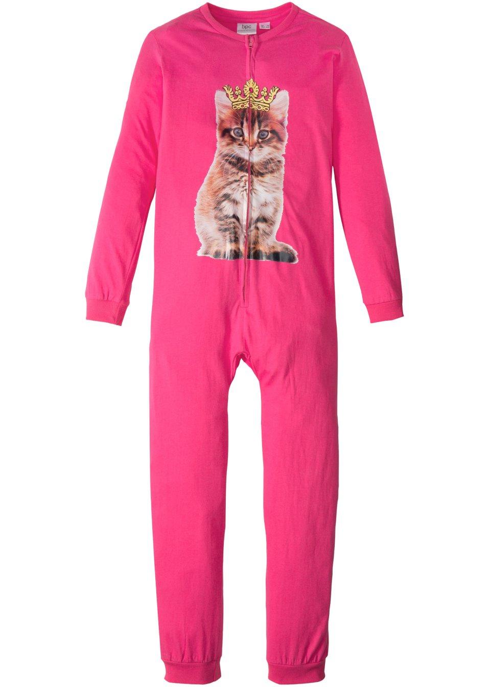 abb69416907a43 Schlaf JUMPSUIT Pyjama Overall Schlafanzug Kinder Mädchen Schlaf ...