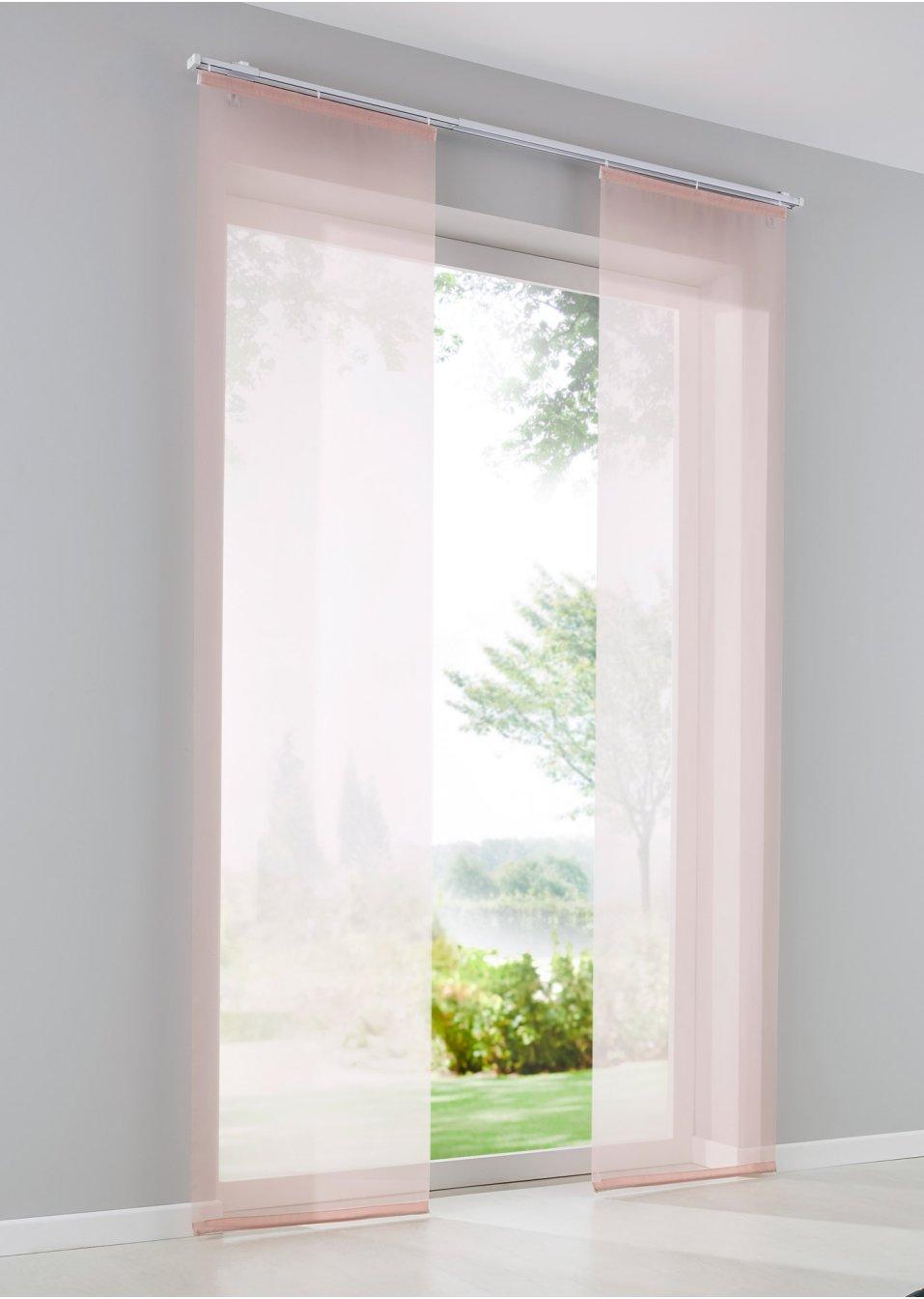 moderne gardinenvorhange eindrucksvollem effekt, schiebegardinen für stilvolle lichteffekte | bonprix, Design ideen
